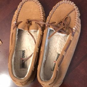 Loafers/slippers leather uppers